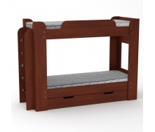 Двухъярусная кровать Компанит Твикс 77х152х210 яблуня