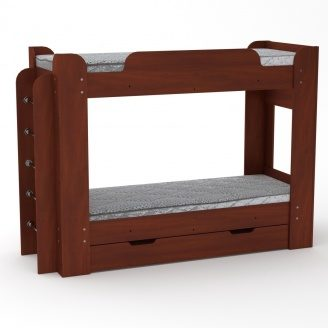 Двох'ярусне ліжко Компанит Твікс 77х152х210 яблуня