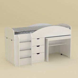 Ліжко Компаніт Універсал 89х16х194 німфея альба