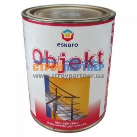 Краска акрилатная Eskaro Objekt изолирующая глубокоматовая 0,9 л
