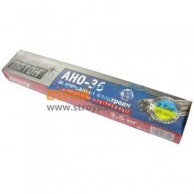 Электроды для сварки углеродистых сталей АНО-36 3 мм 2,5 кг