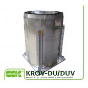 Вентилятор даховий радіальний димовидалення KROV-DU/DUV