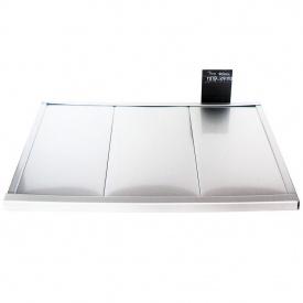 Реечный потолок Бард ППР-КФ-150 серебро металлик комплект 150x200 см