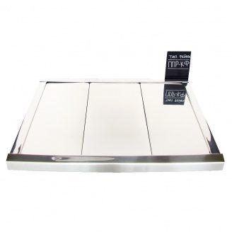 Реечный потолок Бард ППР-100 хром комплект 200x200 см