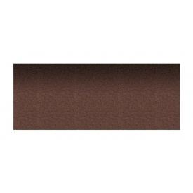 Коньково-карнизная плитка Aquaizol 250х1000 мм горячий шоколад