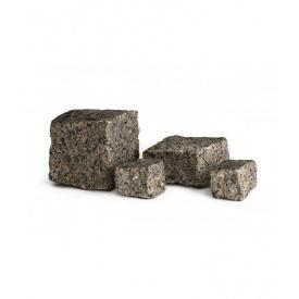 Плитка колота Юнігран гранітна 100х100х100 мм сіра