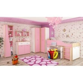 Детская Мебель-Сервис Лео дсп розовый комплект 5 шт.