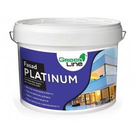 Фасадная силиконовая краска Fasad Platinum 10 л