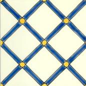 Плитка напольная Doremail Pergola Bl+Jn Sol Iv майолика 20х20х0,8 см (S0011JT11810)