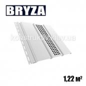 Панель софит перфорированная 4х0,31 м белый