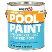 Декоративная краска для бассейнов Pool Paint белая 3,78 литра Zinsser