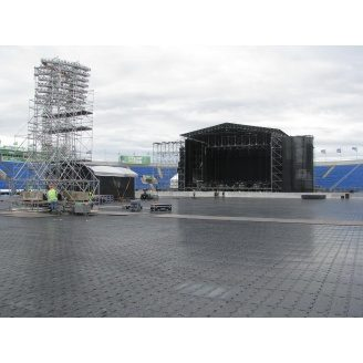Покриття Ecoteck Arena металік