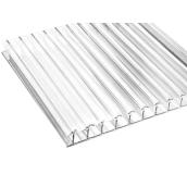Стільниковий полікарбонат Sotalight 6 мм 12000х2100 мм прозорий (20180501)