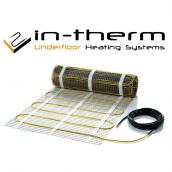 Теплый пол In-Therm 4,4 м2 нагревательный мат 0,5x8,8 м