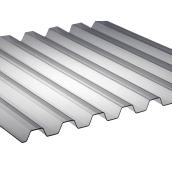 Поликарбонат монолитный BorreX Трапеция 0,8 мм 1050x2000 мм серый (20180193)