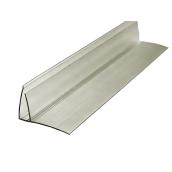 Пристенный профиль 8-10 мм Berolux бронзовый 6 м (20180262)
