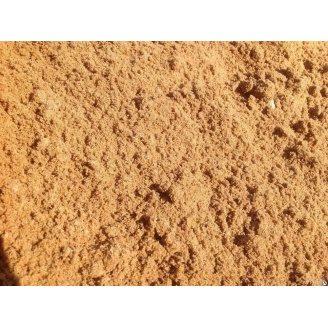 Строительный песок речной насыпью
