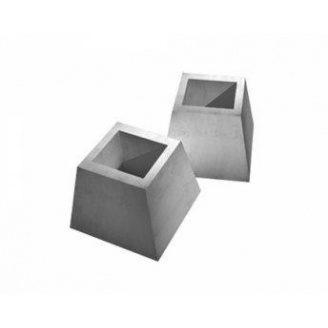 Фундаменты панелей ограждения ФЗП 1-1 760х860х310 мм