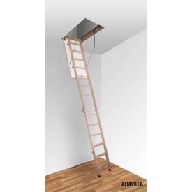Чердачная лестница Altavilla Termo Long 130х80 см