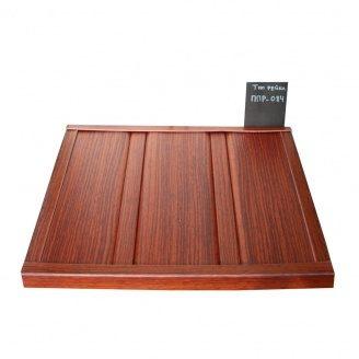 Реечный потолок Бард ППР-084 красное дерево комплект 150x200 см