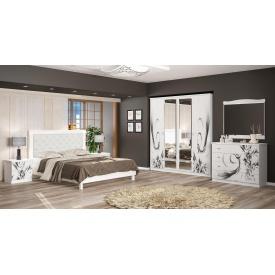 Спальня Мебель-Сервис Ева 4Д белая