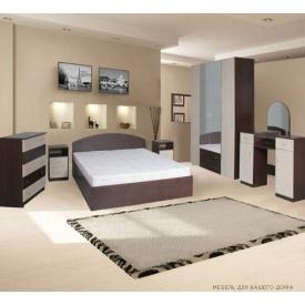 Спальня Компанит 1 венге