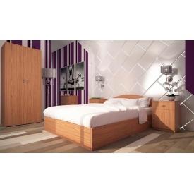 Спальня Компанит 2 ольха