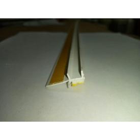 Профиль оконный примыкания с манжетой 9 мм без сетки
