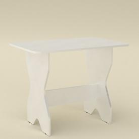 Кухонный стол Компанит КС-1 дсп 900х598х716 мм белый