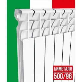 Биметаллический радиатор ItalСlima Ferrum 500x96 мм