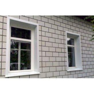 Оздоблення укосу вікна