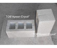 Бетонний блок ЕКО-Плитка 390х190х190 мм