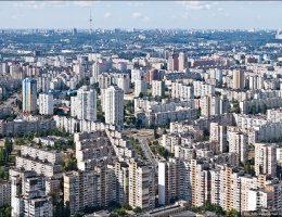В 2018 году в Киеве резко уменьшилось количество нового жилья принятого в эксплуатацию