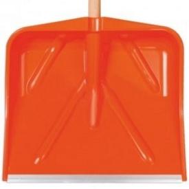 Лопата для снега пластиковая 530х390 мм без черенка MAAN