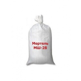 Мертель шамотний МШ-28 ВАОК 25 кг