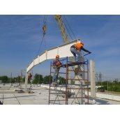 Монтаж металлоконструкций зданий