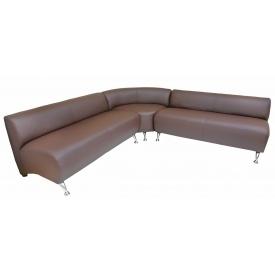 Угловой комплект дивана Флорида Ричман коричневый