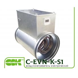 Електричний повітронагрівач канальний C-EVN-K-S1-125-0,8