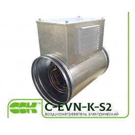 Електричний повітронагрівач канальний C-EVN-K-S2-100-0,6