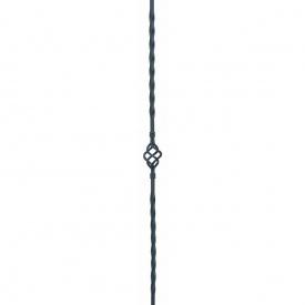 Кованая стойка прямая 950х60 мм (21.024)