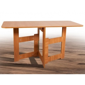 Стол-книжка Лайт 1400х700х750 мм Микс-мебель дсп орех светлый