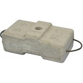 Противагу бетонний для будівельної люльки zlp 630