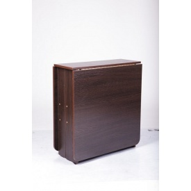 Стол Книжка Микс-мебель раскладной 1680х700х750 мм дсп венге