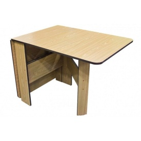 Раскладной стол книжка Микс-мебель 1680х700х750 мм дсп дуб-седан