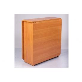 Стол Книжка Микс-мебель раскладной 1680х700х750 мм дсп вишня-оксфорд
