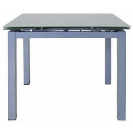 Стол обеденный Скай серый раздвижной