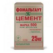 Цемент М500 Д0 25 кг Фомальгаут-Полимин