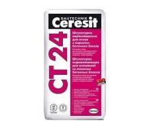 Штукатурка выравнивающая Ceresit CT 24 для оснований из ячеистых бетонных блоков 25 кг