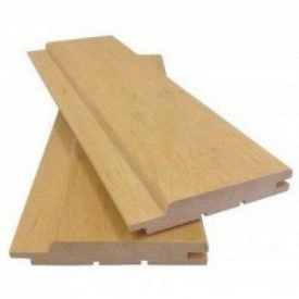 Вагонка деревянная европрофиль 80x14 мм 3 м