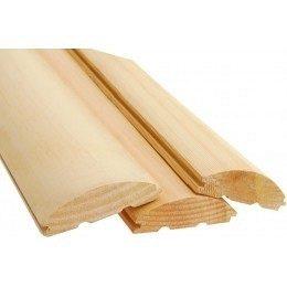 Блок хаус дерев'яний 105x25 мм 4 м